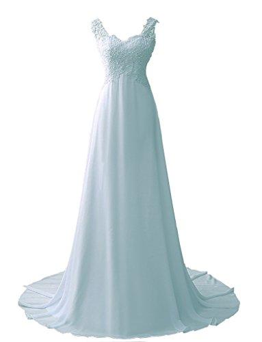 JYDress - Robe - Trapèze - Femme bleu ciel