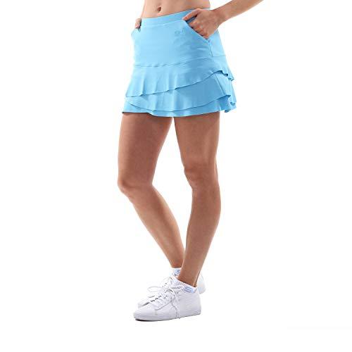 SPORTKIND Jupe Tulipe avec poches et shorts intégrés pour Tennis Hockey sur  gazon Golf 4f5a10ada4a