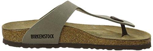 Birkenstock Gizeh, Tongs Gris (Stone)