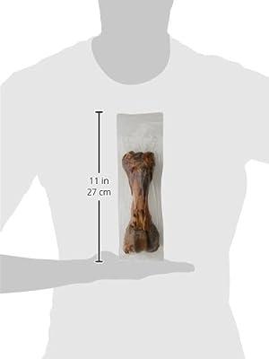 HOWLERS Natural Large Ham Bones, 380 g, Pack of 6