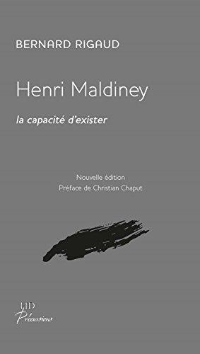 Henri Maldiney, la capacite d'exister