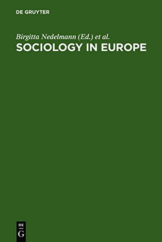 Sociology in Europe: In Search of Identity