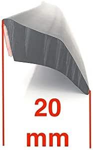 Kotflügelverbreiterung Trekfinder Universal 4 Stück 20 Mm Breit A 150 Cm Gesamt 600 Cm Lang Auto
