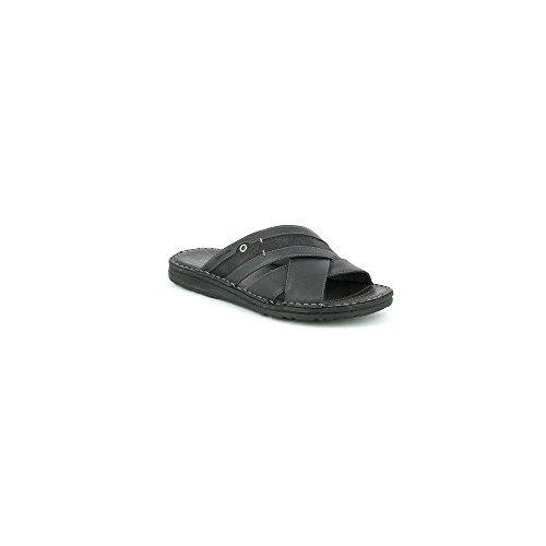 Grunland lapo ciabatta incrociata con appoggio soft (39, nero)