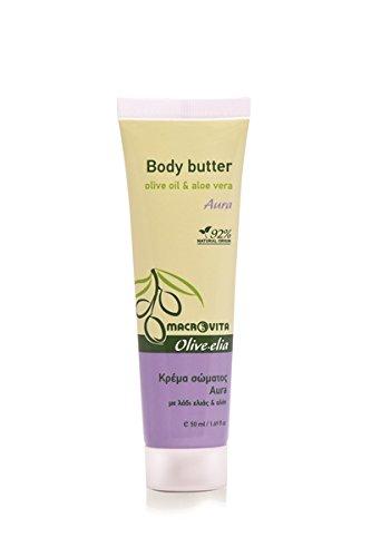 Cocoa Butter Moisturizing Body Oil (OLIVELIA BODY BUTTER AURA (MINI) OLIVE OIL & ALOE VERA 50 ML.)