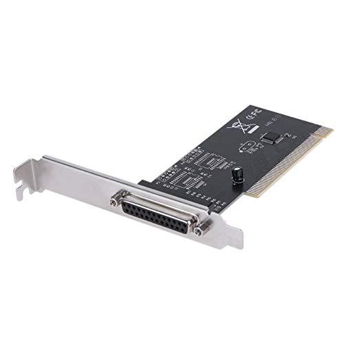 XZANTE PCI Erweiterungs Karten Adapter 25Pin Parallel LPT PCI Zu Parallel DB25 Drucker Anschluss Controller Karte -