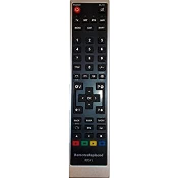 Panasonic QUINTRIX Replacement TV Remote Control by RemotesReplaced