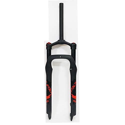 TIANPIN Snow Mountainbike Federgabel, 26, Fettgabel Für 4.0 Reifen Aluminiumlegierungsgabel für ATV
