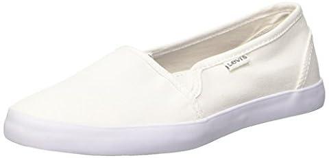 Levi's Palmdale 224476 733, Damen Sneakers, Weiß (50), 38 EU