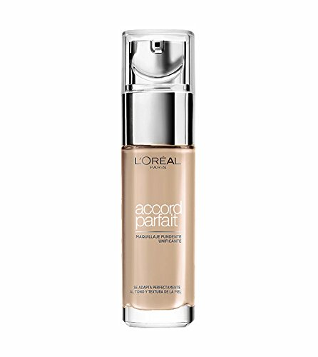 L'Oréal Make Up Designer Paris Accord Parfait il Fondotinta, 3D Beige Doré