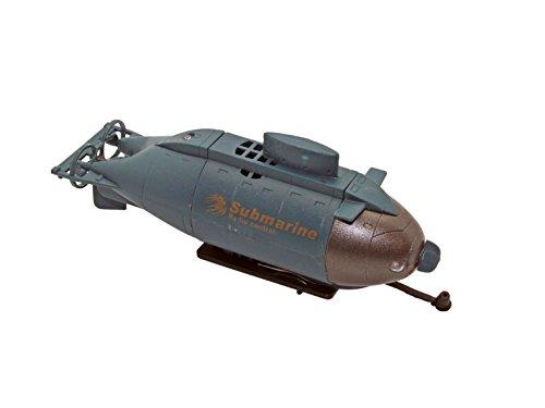 Flying Gadgets Fernbedienung Mini U-Boot Boot Spielzeug (dunkelblau) (Control Remote-sub)