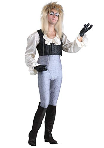 Labyrinth Jareth Adult Fancy Dress Costume Small