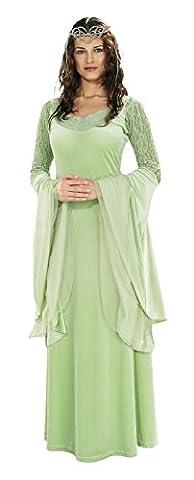 Rubie's 3 56031 - Herr der Ringe Queen Arwen Deluxe Kostüm, Größe M/L, creme/elfenbein