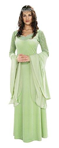 Rubie's 3 56031 - Herr der Ringe Queen Arwen Deluxe Kostüm, Größe M/L, (Aragorn Der Kostüme Herr Ringe)