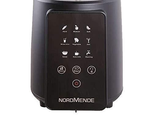Nordmende Genius Estrattore a Freddo, Pannello di Controllo Touch, 9 Programmi, Filtri per Sorbetti e Passata di Pomodoro, 200 W, Nero - 2021 -