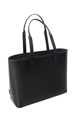 paperthinks-100-recycled-leather-small-tote-bag-black