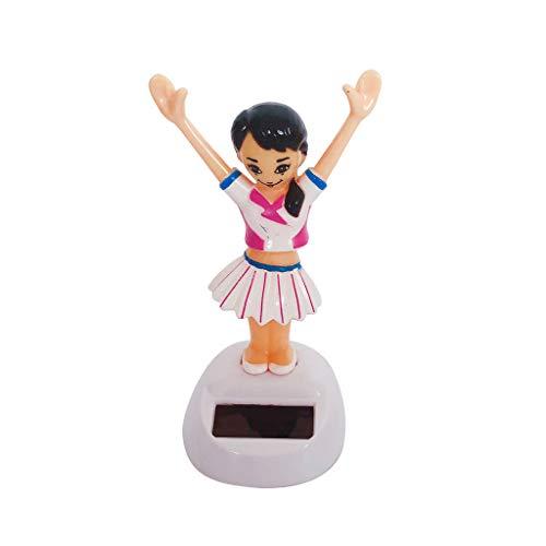 ckelfigur Wackel Solar Figur Tanzende Solarwackelfigur Kinder Spielzeug - Mädchen ()