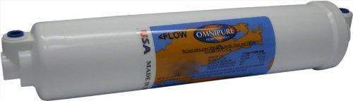 10 Sediment 5 Micron Filter w/ 1/4QC Elbow Connection by Omnipure Sediment Inline Filter (In-line-filter Omnipure)