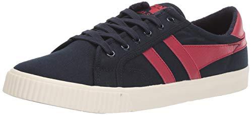 Gola Herren Tennis Mark COX Sneaker, Blau (Navy/RED ER) ER, 44 EU