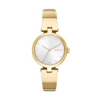 DKNY Reloj Analógico para Mujer de Cuarzo con Correa en Acero Inoxidable NY2712