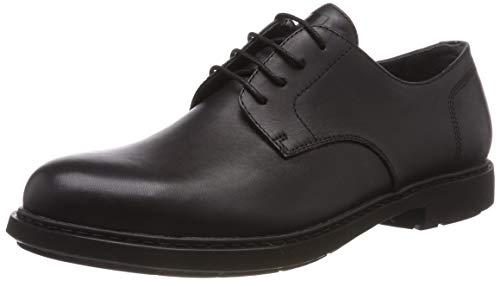 Camper Neuman, Zapatos Cordones Derby Hombre, Negro