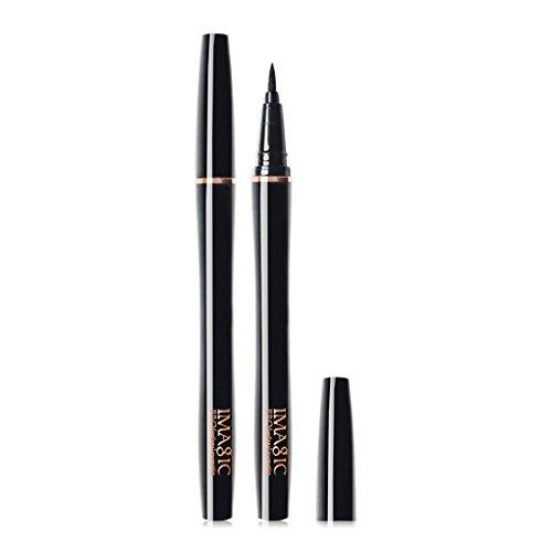 Unbekannt Coco IMAGIC Nein Shading Eyeliner Pen Tragbare Schwarze Wasserdichte Einheitlich Farbige Schnell Trocknend Kajalstift