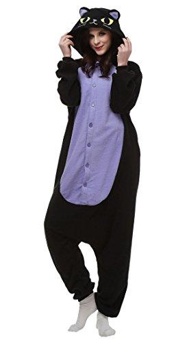 Feoya-Unisex-Disfraz-de-Animal-Cosplay-Hombre-Mujer-Adultos-Franela-Pijama-Mono-Pajama-Costume-Cosplay-Halloween-Carnaval-Fiesta-Navidad-Muchos-Modelos-para-Elegir
