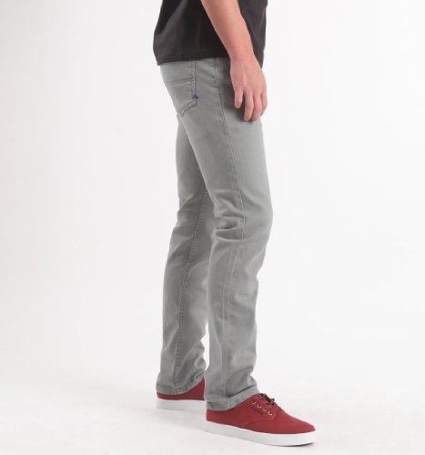 Emerica Hsu Sara Toga Denim Jeans Para Hombres Gris