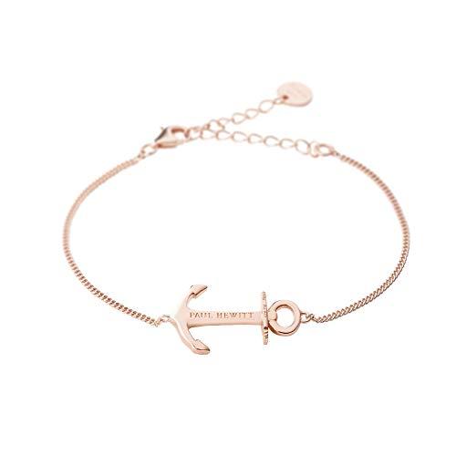 PAUL HEWITT Anker Armkette Damen Anchor Spirit aus 925 Sterling Silber - Roségold vergoldet