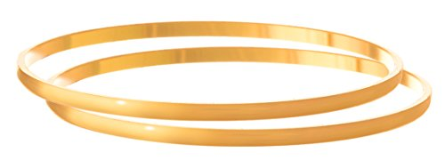 JFL - Traditional Ethnic Fusion One Gram Gold Plated Designer Bangle for Women & Girls