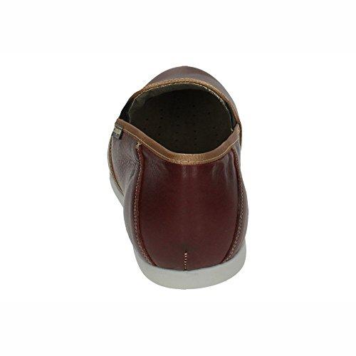 Made In Spain Mocassins Pour Homme Bordeaux