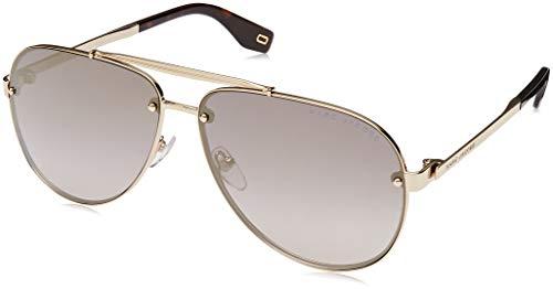 Marc Jacobs Sonnenbrillen (MARC-317-S J5GFQ) gold - grau verlaufend mit silber verspiegelt effekt