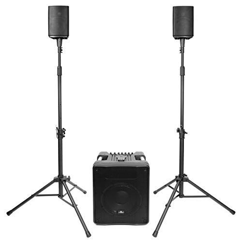 Vyrve Audio MIZAR Kompakt-PA-System inkl. Boxen-Stative 250 Audio