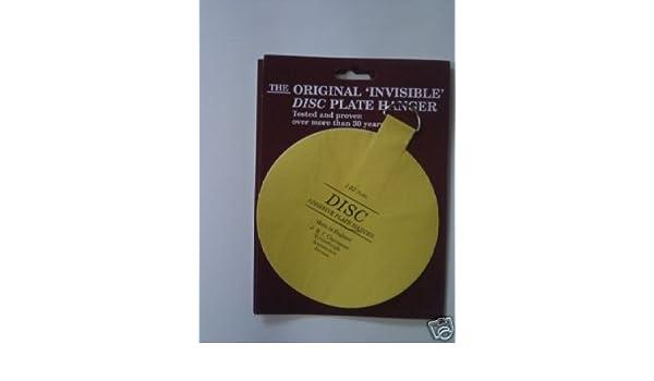 Disque original Invisible Plaque Image Suspension Plaque Photo cintre suspendu