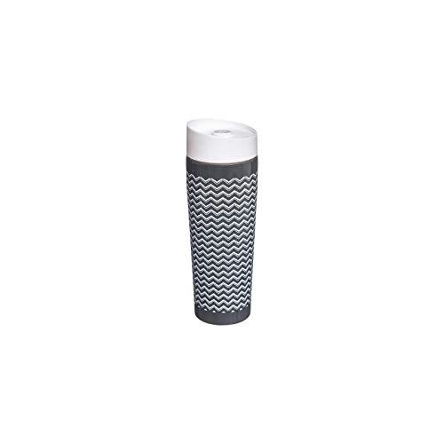 Mug isolant - Scandinave - 35 cl - Acier inoxydable - Gris