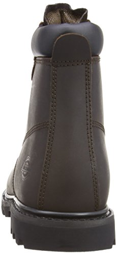 Dickies CLEVE6H Cleveland, Stivali antinfortunistici Dark Brown