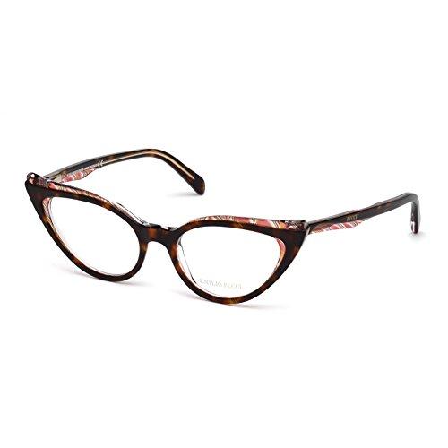 emilio-pucci-ep5051-056-occhiale-da-vista-avana-eyeglasses-sehbrille-new