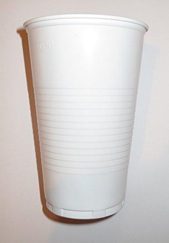 3000 Gobelets 0,2 colabecher ausschankbecher plastique 200 ml blanc)