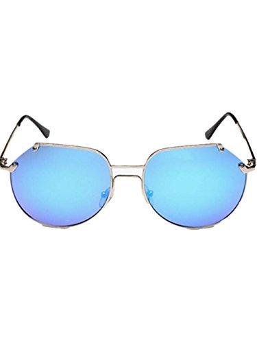 GZD tailler les lunettes polarisées classiques yourte mâle et femelle Blue