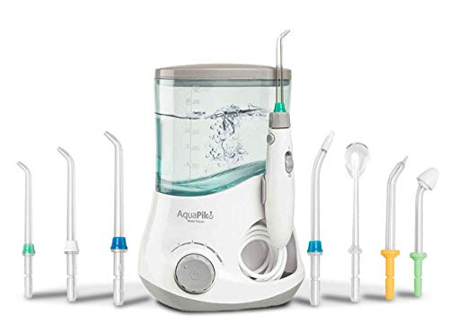 Boston Tech - Aquapik 100 - Irrigador dental y Nasal profesional con 7 Boquillas multifuncionales Recomendado...