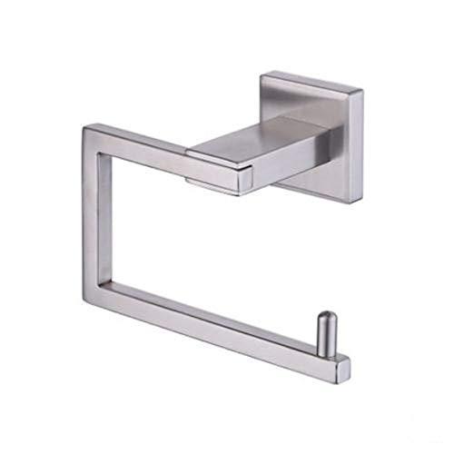 Toilet Paper Holder 304 Edelstahl Küche Badezimmer Dispenser 3M Stick Suction Cup Badezimmer Zubehör,A