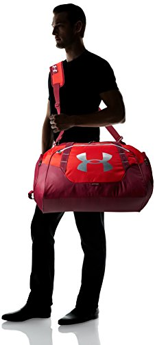 Under Armour Unisex Undeniable 3.0 Borsone Red/Black Currant