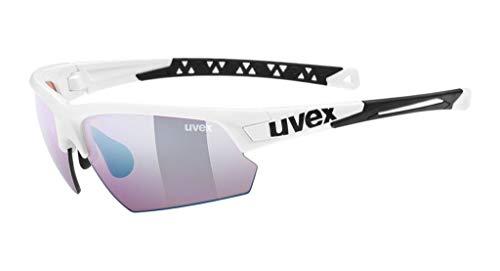Uvex Erwachsene Sportstyle 224 CV Sportsonnenbrille, weiß, one Size