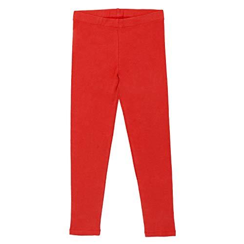 Celodoro - Leggings algodón niños Rojo - 122/128