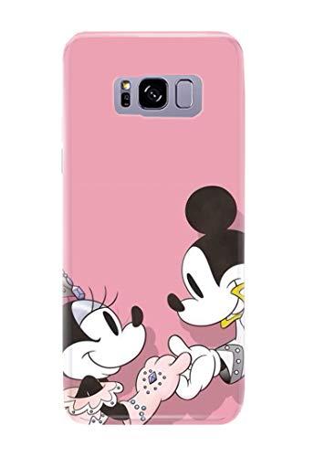 0f381e8a8a1 Case Me Up - Carcasa para Samsung Galaxy S8, diseño de Mickey Mouse Sweet  Disney
