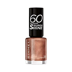 Rimmel London 60 Seconds Super Shine #709-Top Less 8 ml – 1 unidad