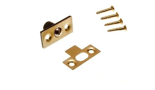 pack de 3 balles rattraper Loqueteau /à bille tubulaire avec vis 13mm 1//2 pouces