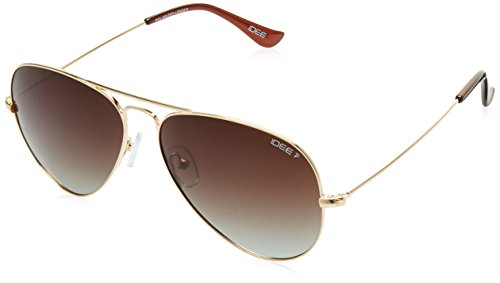 IDEE Polarized Aviator Women's Sunglasses - (IDS2001C39PSG|58|Brown Gradient Color)