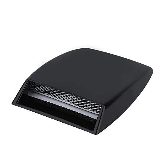 Yaoaoden Auto Auto Motor Luftstrom Ausströmer Kunststoff Aufkleber Haube Schaufel Dekorblende schwarz -