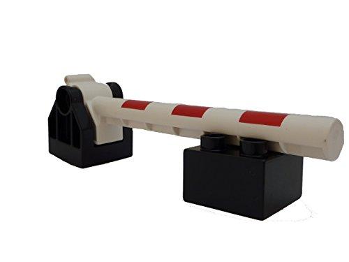 Lego Duplo Bahnschranke für Eisenbahn Eisenbahnschranke Neue Version 2013
